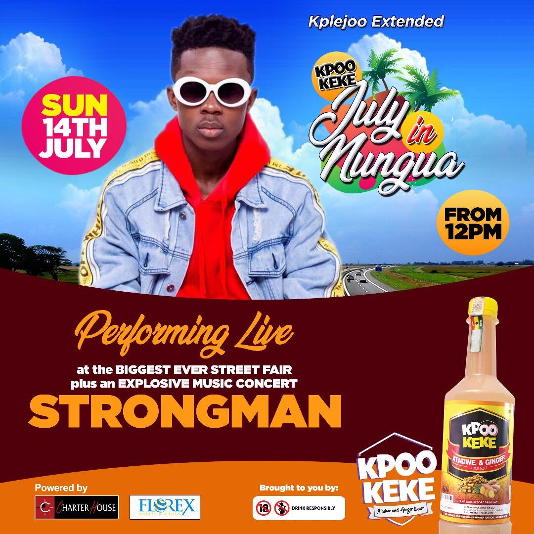 This Sunday we turning up at Nungua Highstreet 🔥🔥🔥 I'm repping July in Nungua  Come let's vibe Fam #StrongEmpire