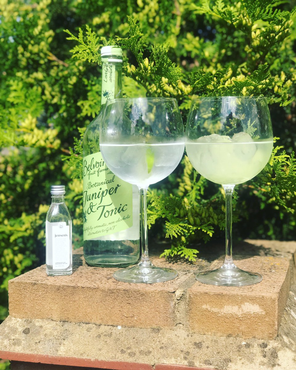 Friday afternoon drinks courtesy of @JensensGin & @belvoirff - so delicious 😍😍 https://t.co/CVa7ptuV3z