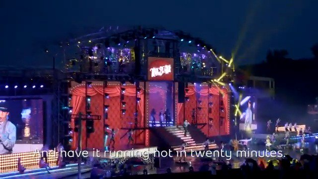 The Bell Grandstand Show stage @CalgaryStampede is truly 🔥 and Canadian performers dream of getting to stand on it. Check out the technology that goes into building it in the new Behind the Scenes episode. Click 👉 bit.ly/2LKWTLN for more #CalgaryStampede content!
