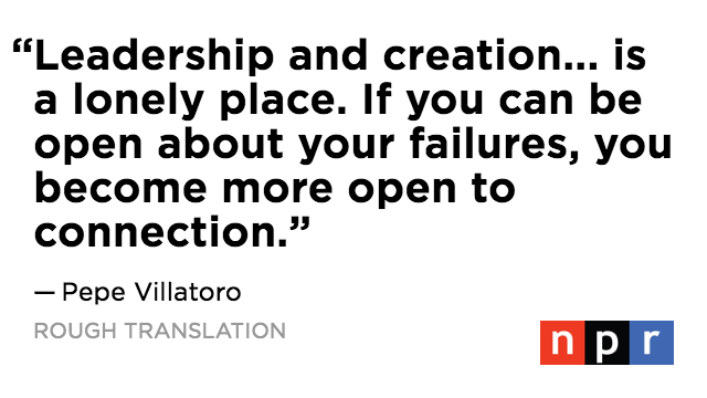This time on @Roughly: A Mexican entrepreneur inadvertently creates a global community of people sharing their biggest failures… publicly. Listen as they learn how their culture affects the way they think about business blunders. https://n.pr/2jAlCH5