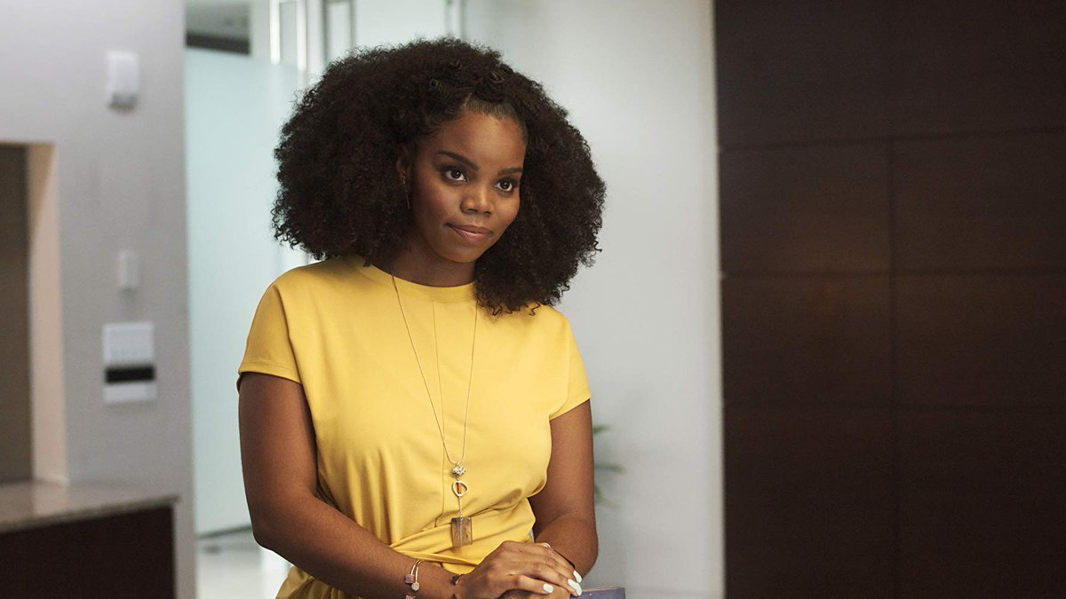 As Crystal Garrett on @BoomerangOnBET, @brittany__inge, C'2011, portrays a buttoned-up, type-A personality go-getter. The role allows her to fulfill one of her acting goals of telling essential stories that celebrate the Black experience in its many forms. http://bit.ly/2xHghBr