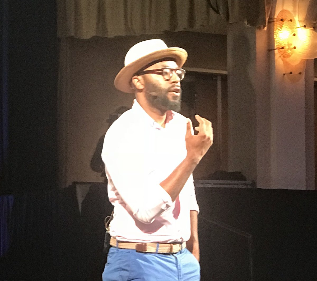 """""""You can't utilize old models for a new time."""" @chrisemdin inspiring #TEACH19 to break free from models that were created during times when those we educate weren't even included. @AFTteach @AFTunion"""