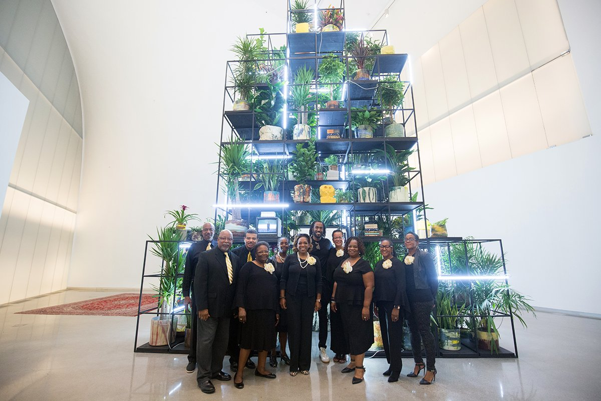 The final Provocations Performances of the summer are this weekend! The First African Baptist Church Contemporary Choir returns for its 3rd performance alongside Rashid Johnson's Monument. Today at 4pm, today at 3 pm. Free and open to all. Don't miss! http://ow.ly/v7Qy50uZxEr