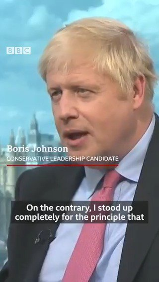Why didnt you stand up for our man in Washington? @AfNeil pushes Boris Johnson on whether his response to the Trump email row was a factor in Sir Kim Darrochs resignation Watch in full at 7pm on @BBCOne #BBCOurNextPM [tap to expand] bbc.in/32leUpY