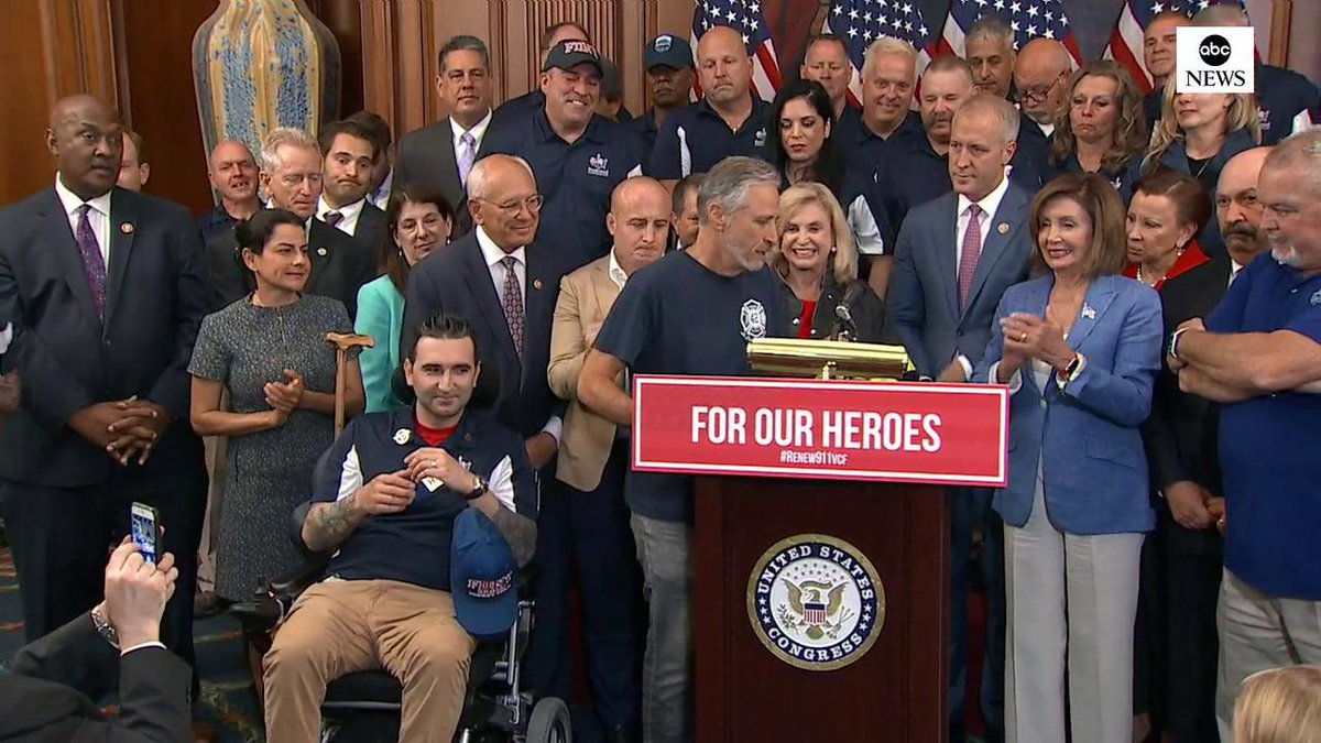 Jon Stewart returns to Capitol Hill to fight for 9/11 first responders funding - Culture - Mashable ME