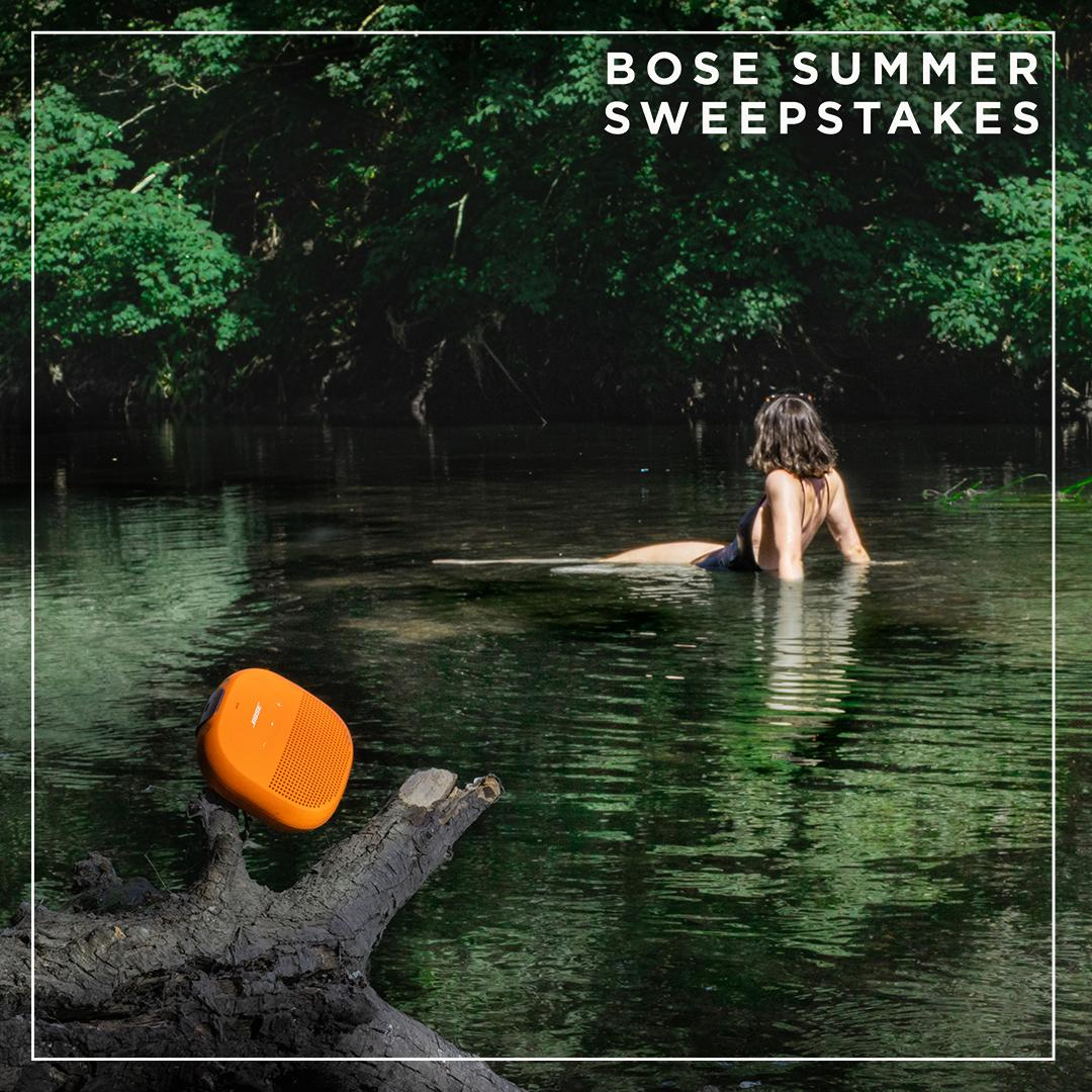 Fancy a summertime dip? Let's take it up a notch! The Bose summer sweepstakes has begun. Share a photo of how Bose is amplifying your summer using #MyBose and #Sweepstakes for the chance to win a pair of #BoseFrames.🕶🎵 Click to learn more: https://bose.life/32gVumd