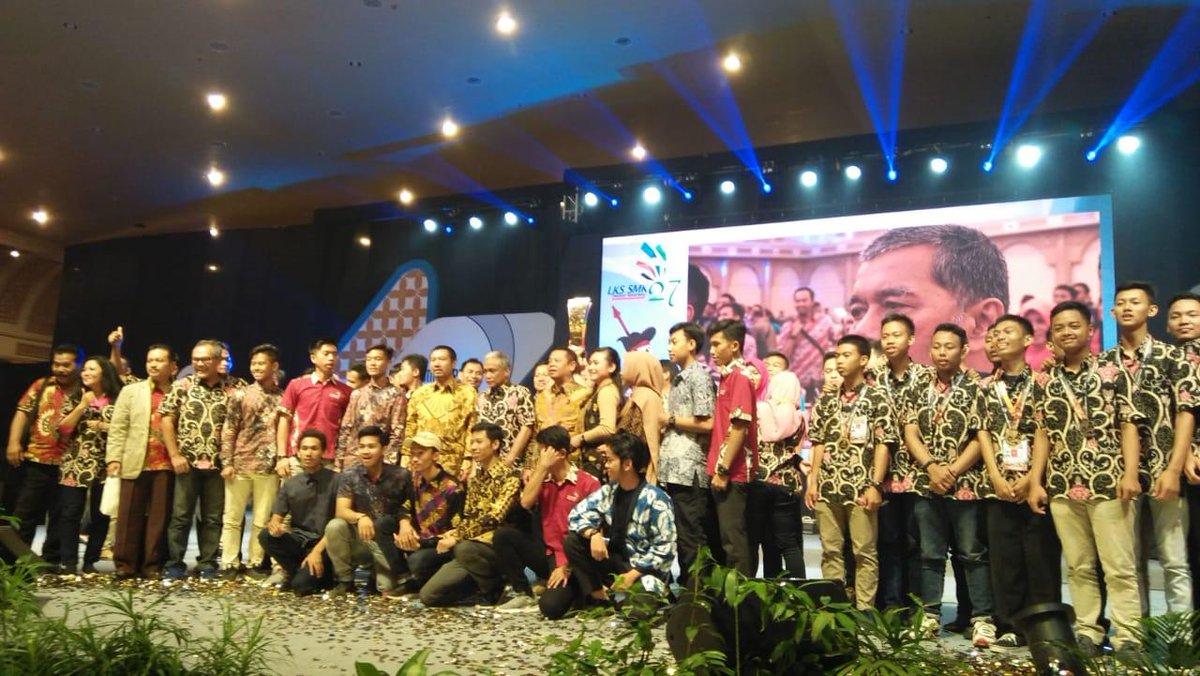 Juara Umum LKS SMK 2019. Jawa Tengah