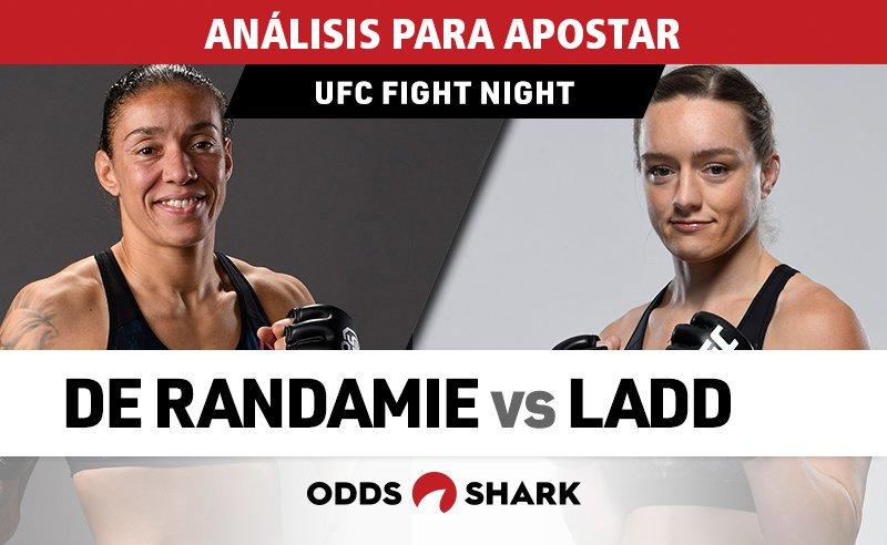 Tenemos todo lo necesario para apostar en #UFCSacramento.  Germaine de Randamie Vs Aspen Ladd, será el evento principal de la noche, pero te ofrecemos ayuda para todas las peleas. ¡Atento! http://bit.ly/2LTct8f