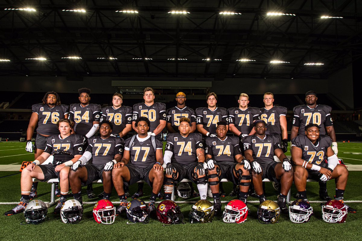 2019 @TheOpening Offensive Linemen.
