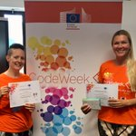Image for the Tweet beginning: CodeWeek graduates! Go Finland! With