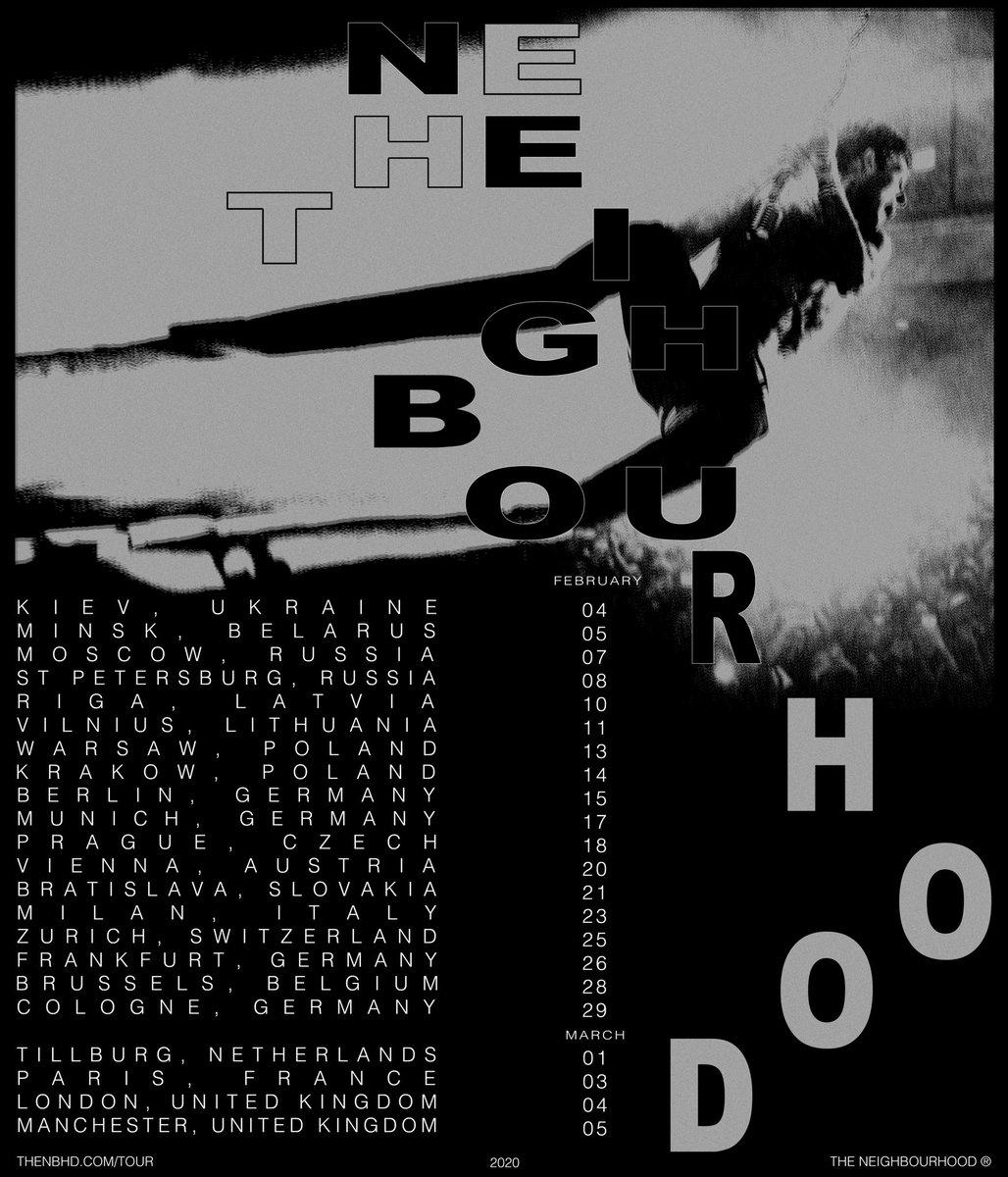The Neighbourhood New Album 2020 The Neighbourhood (@thenbhd) | Twitter