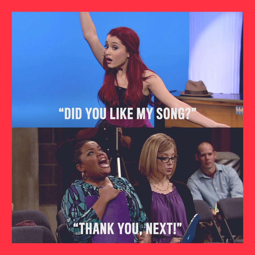When your own catchphrase gets used against you... #Victorious