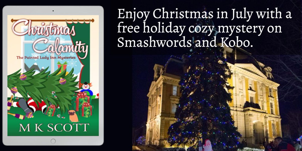 RT @morgankwyatt: How about a #free holiday mystery for the weekend? #christmas #cozymystery https://t.co/DT1Bjrd2ru https://t.co/jWUFuhvAak