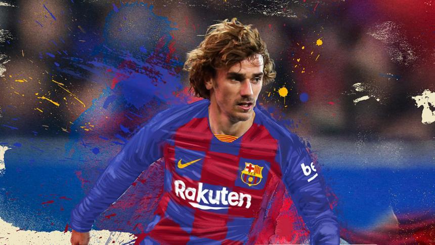 El francés Antoine #Griezmann es nuevo jugador del #Barcelona hasta 2024