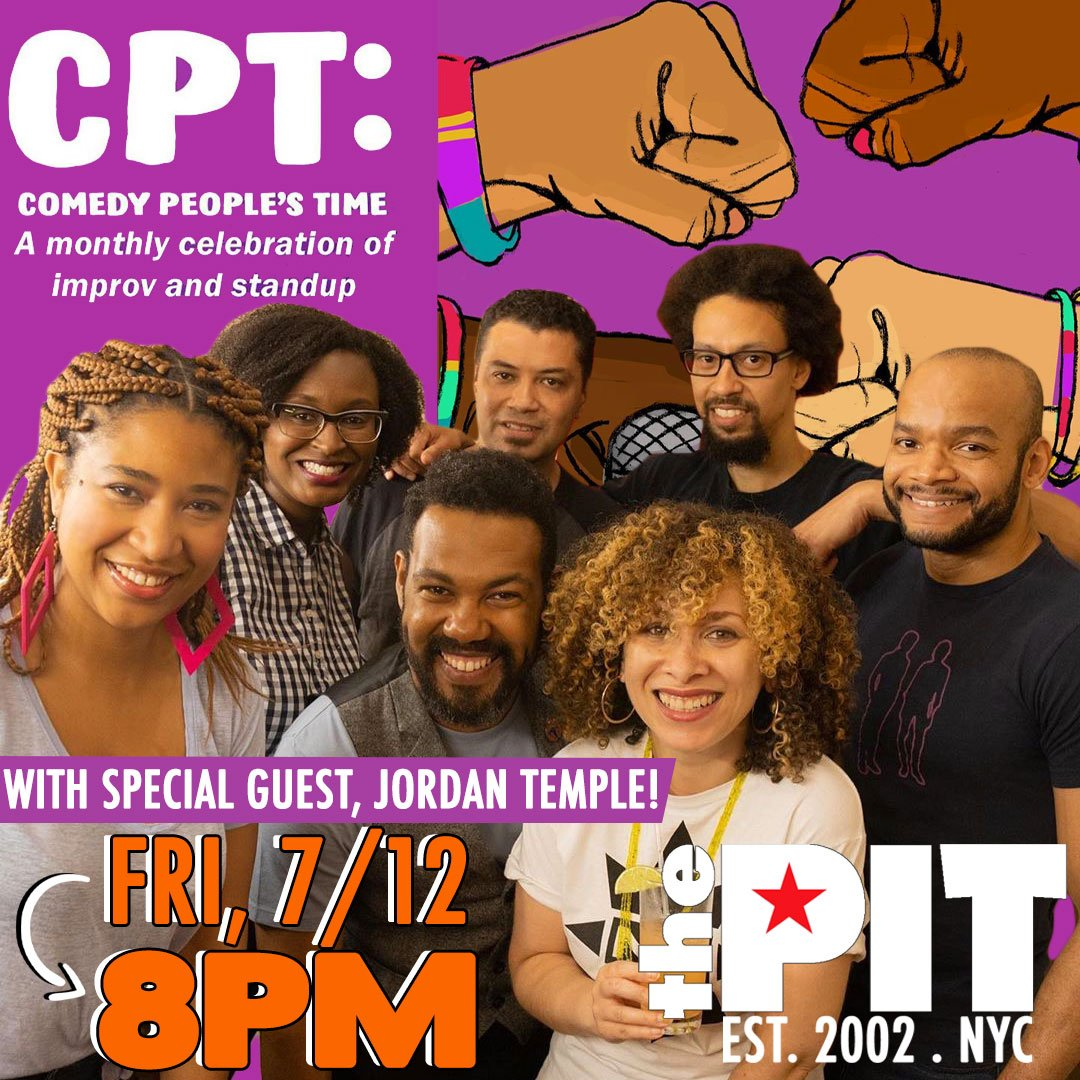 TONIGHT @ 8PM, @ComedyPeoplesTime hits our Striker Stage w/ the talented @JordyPloy and @miacomedy! Tix in our bio, over the 📞, or at our box office.#ComedyPeoplesTime#NYCcomedy#StandupComedy#ImprovComedy#FridayNight#DoNYC