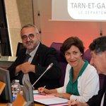 Image for the Tweet beginning: L'Etat et le Département du