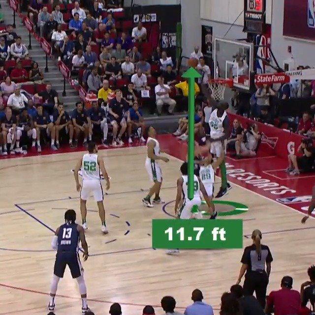 The LENGTH of @tackofall99 on both ends of the floor!   #NBABreakdown #NBASummer