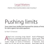 How have rules changed for statute of limitations claims against appraisers? Valuation magazine has the answers: https://t.co/ARWXtUs801
