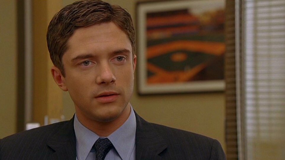 Happy birthday Topher Grace. I really enjoyed In good company, a very pleasant film.