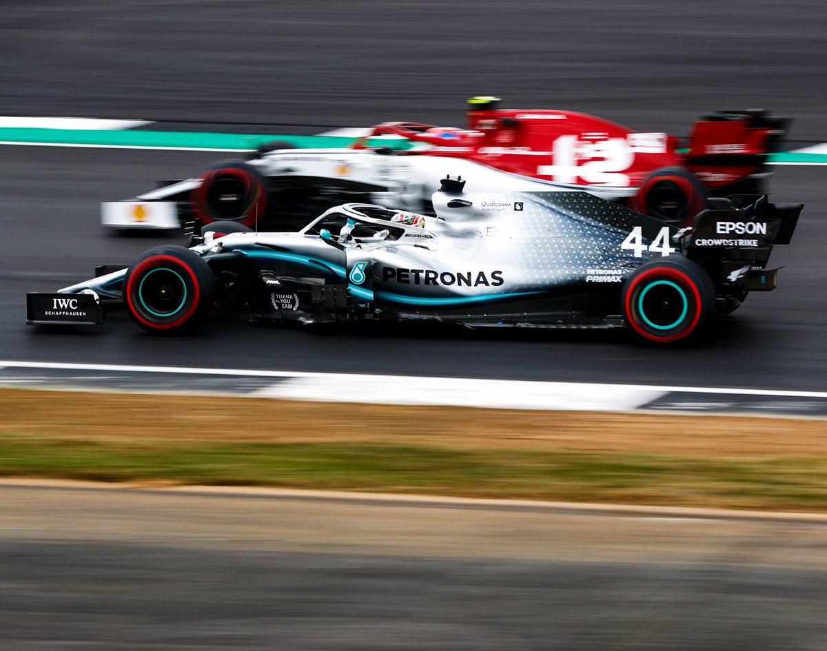Lads, it's Friday... 😜 Racers gonna race!  #BritishGP @LewisHamilton