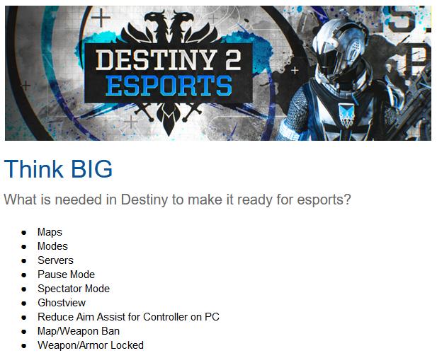 Destiny2Esports Net on Twitter: