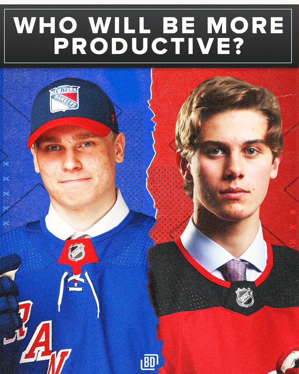 Now that Kaapo Kakko and Jack Hughes have both signed their ELCs, who will have more points next season?   <br>http://pic.twitter.com/RSKbRdkm58