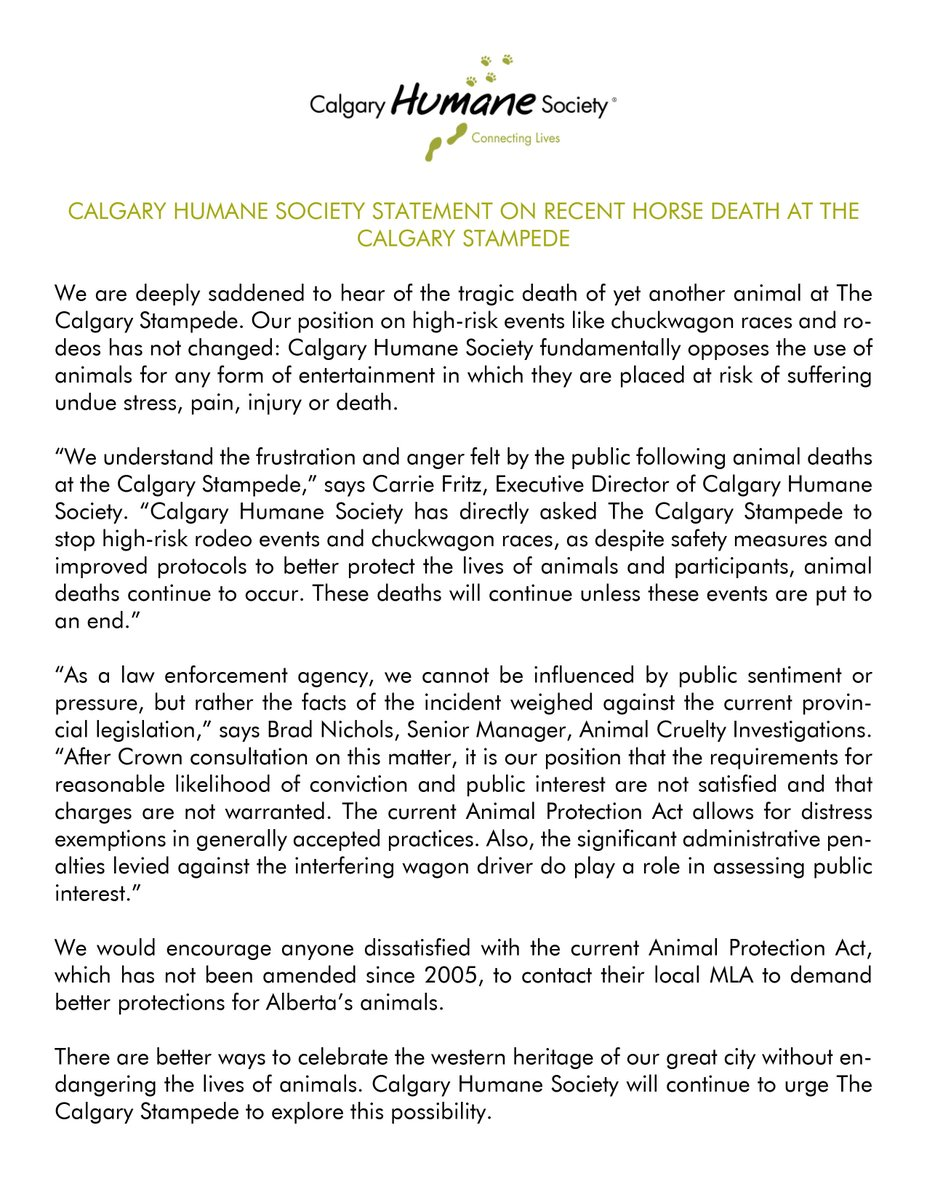 CalgaryHumaneSociety on Twitter: