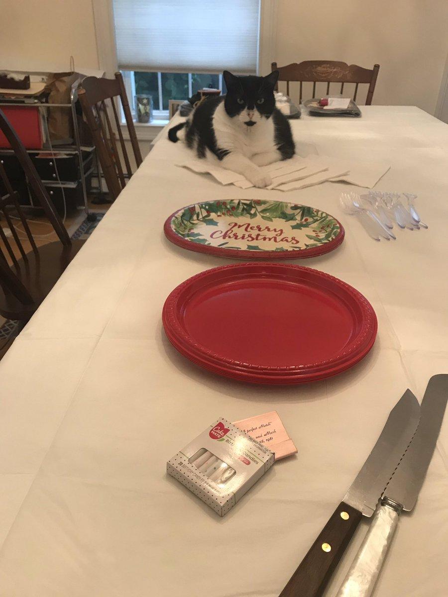 So...I hear we're having cake.