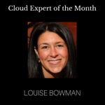 Image for the Tweet beginning: Meet Louise Bowman: Cloud Expert
