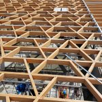 Image for the Tweet beginning: Mass timber is growing because