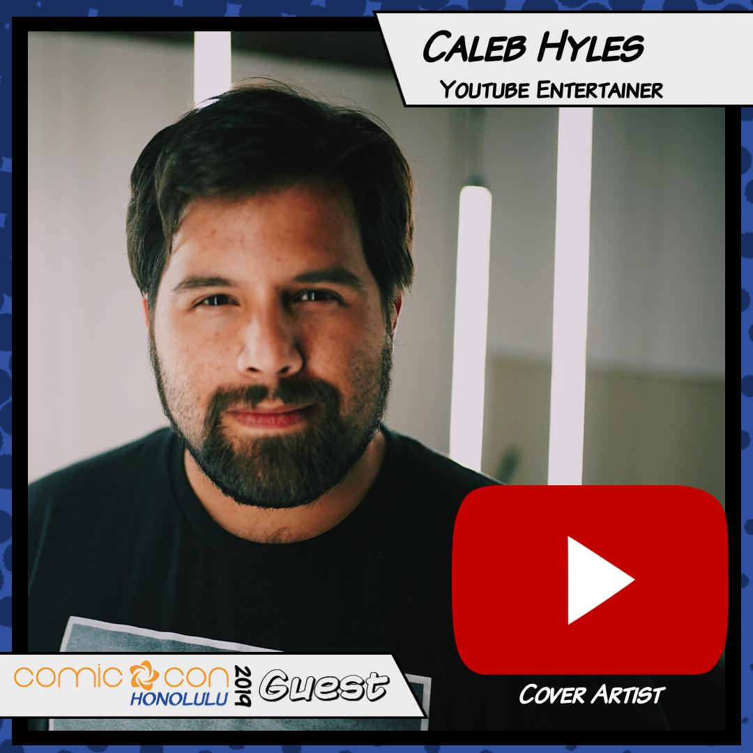 Cover artist Caleb Hyles is coming to #comicconhnl! Caleb Hyles is a YouTube cover artist, singing a bit of everything; from top 40 to Broadway and anime. Join him at his concert, sing with him at a sing-along, and ask him anything at his panels! https://t.co/anMoIw9wj6 https://t.co/SGPc9arGPd