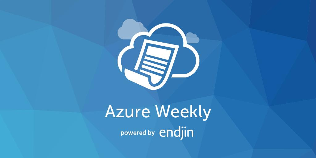 #AzureMonitor #LogAnalytics UI updates from the Azure updates team https://buff.ly/2Zxk4Nf. Stay informed with more news and updates from the #Azure ecosystem at https://buff.ly/2WdlXBO. #TechNews #AzureWeekly