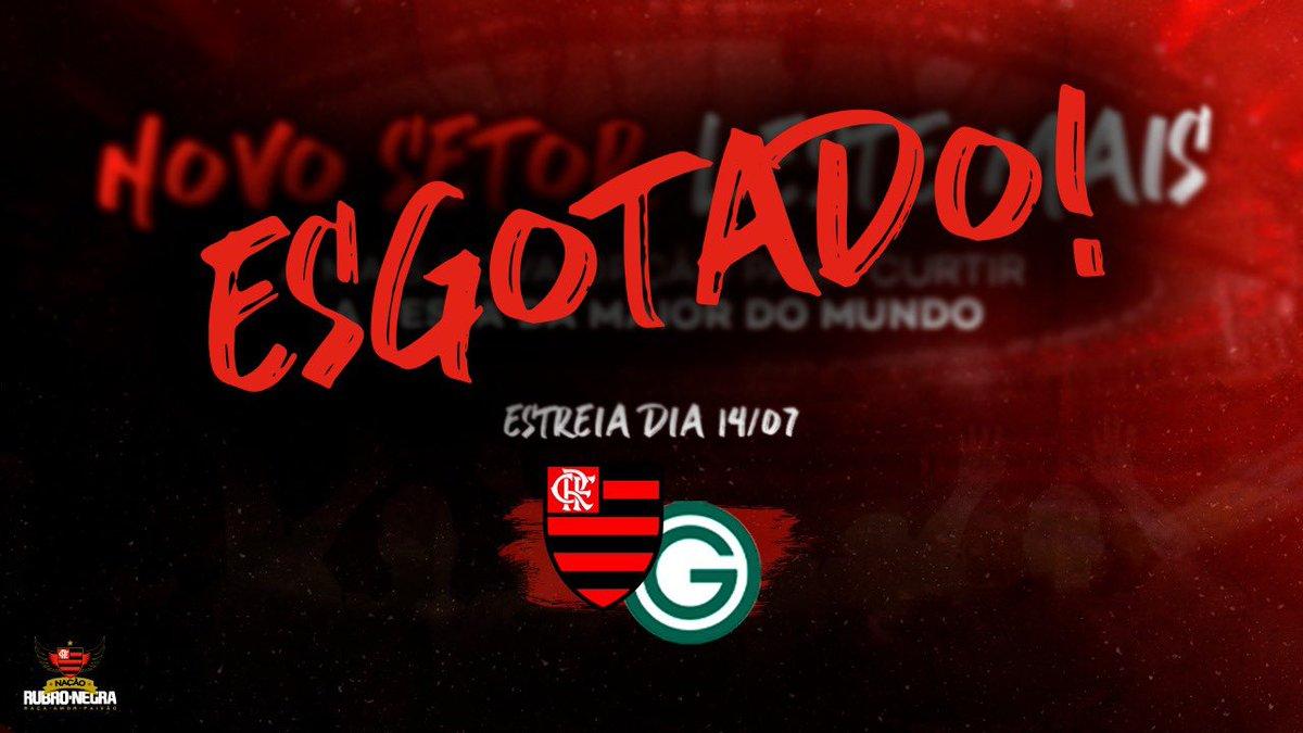 Flamengo X Goias Ingressos Esgotados Para Jogo Do Retorno Do Campeonato Brasileiro Gavea News