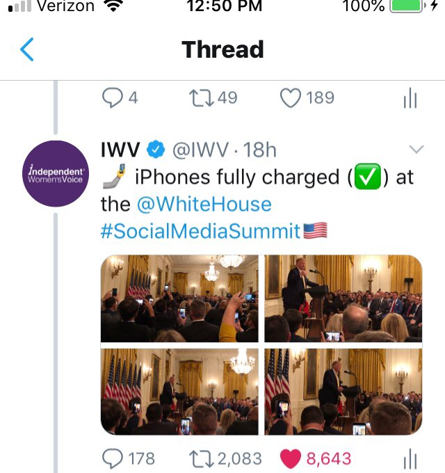 How did this tweet go from over 2k retweets at 12:50pE to only 941 at 4pE, @Twitter?  cc @SaraCarterDC @DanScavino @realDonaldTrump #SocialMediaSummit <br>http://pic.twitter.com/HvLmLNoJQc