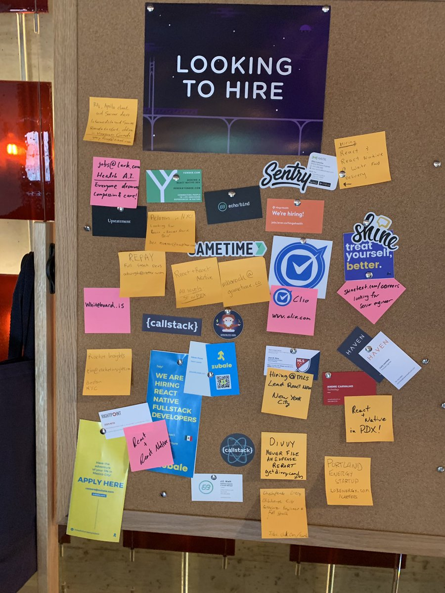 Organizations looking to hire #ChainReact2019