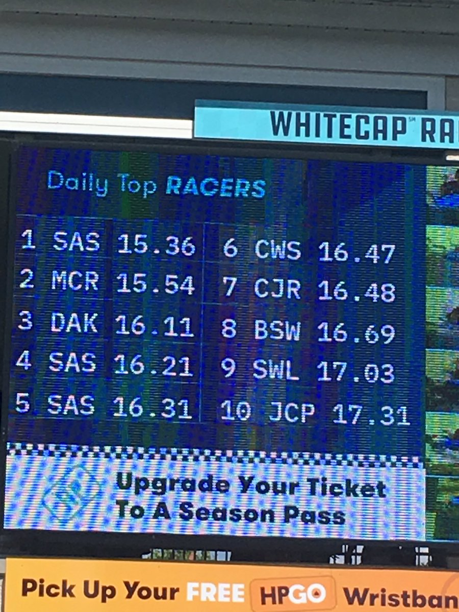My fast time is still up on Whitecap Racer @Hersheypark 😎