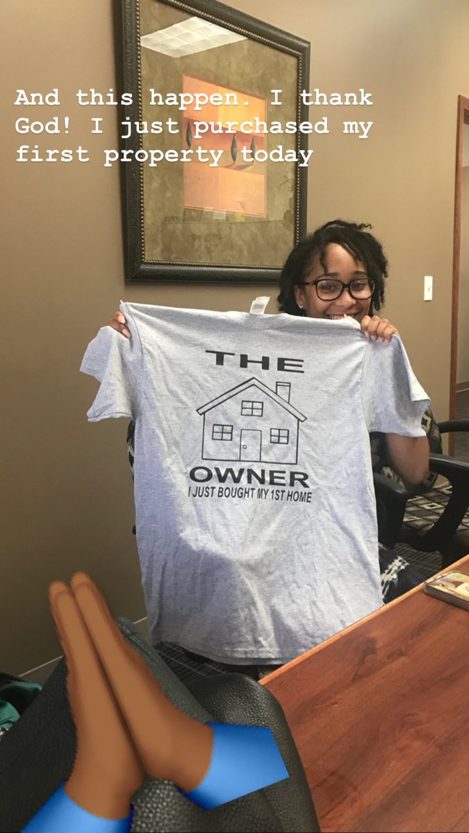 Still accomplishing all goals... more to come... #MoreLife #BlessingsOnBlessings  purchased my first property today  <br>http://pic.twitter.com/0fe66OEQve