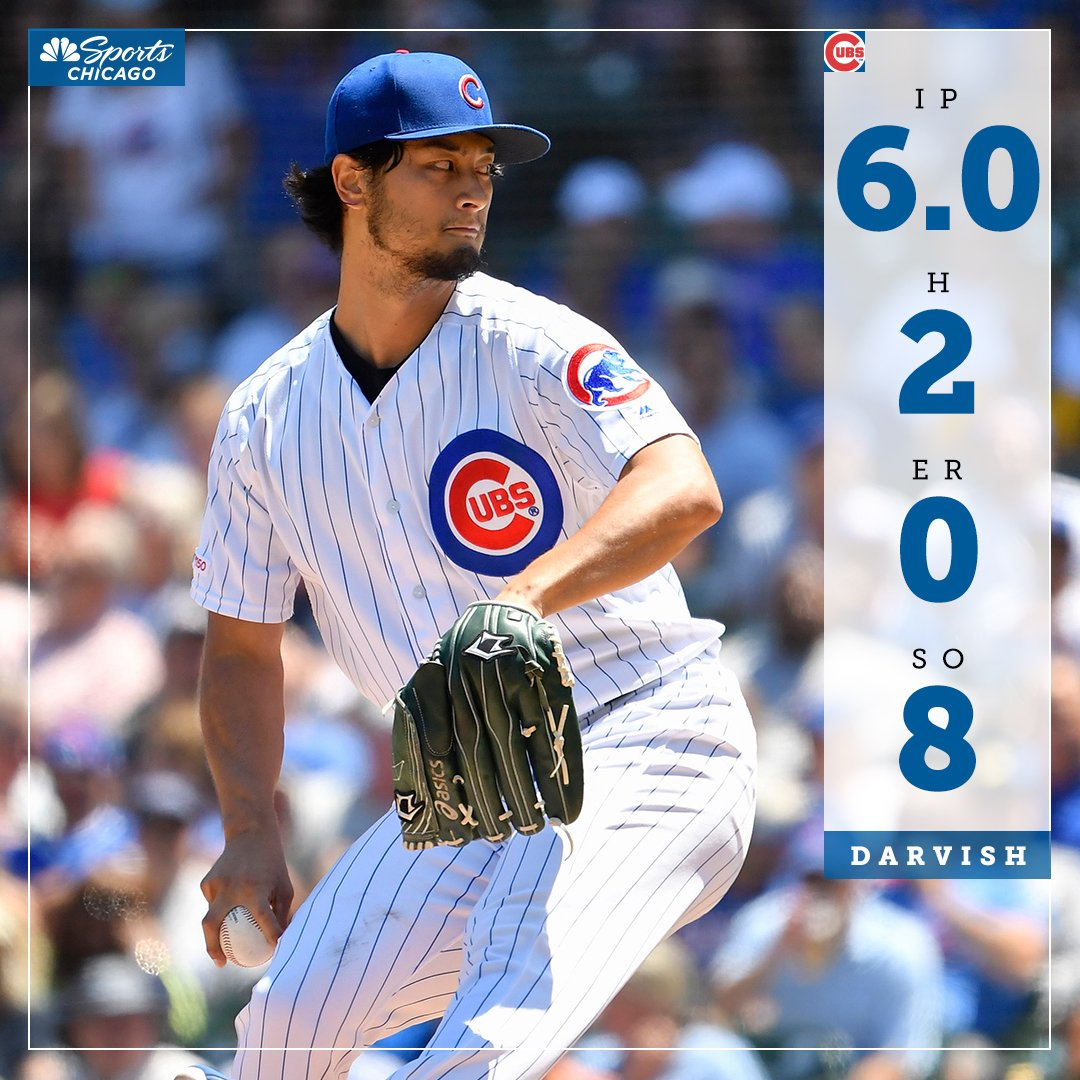Yu Darvish came out of the All-Star Break on 🔥