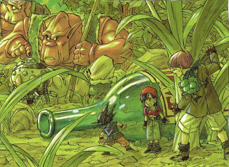 Akira Toriyama Art On Twitter Dragon Ball Gt Illustration 1995