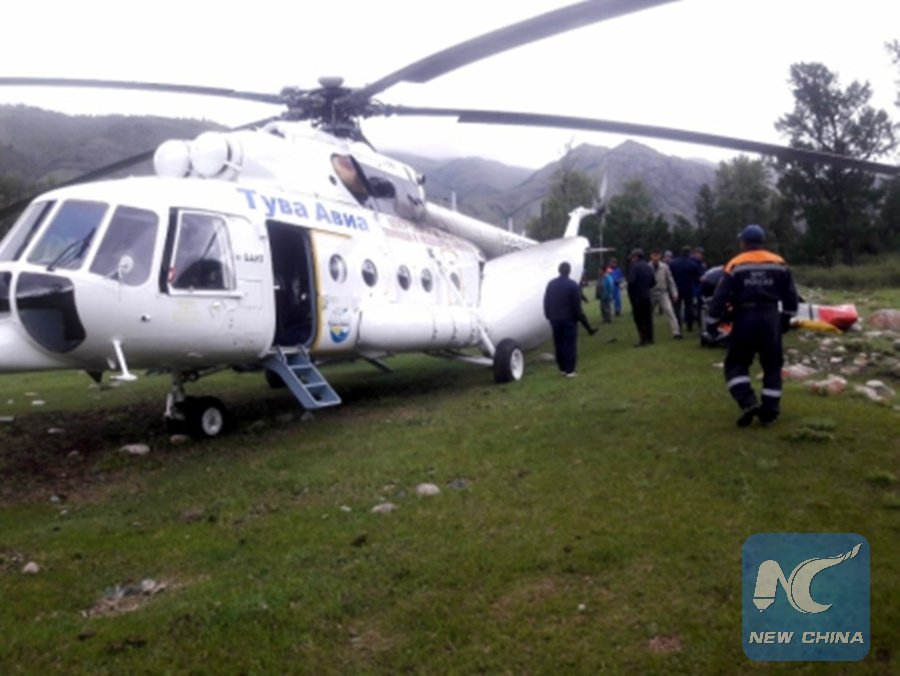 Ten people killed in Russia's Tuva region in southern Siberia when off-road vehicle falls into river, Russian media report http://xhne.ws/RLk9N