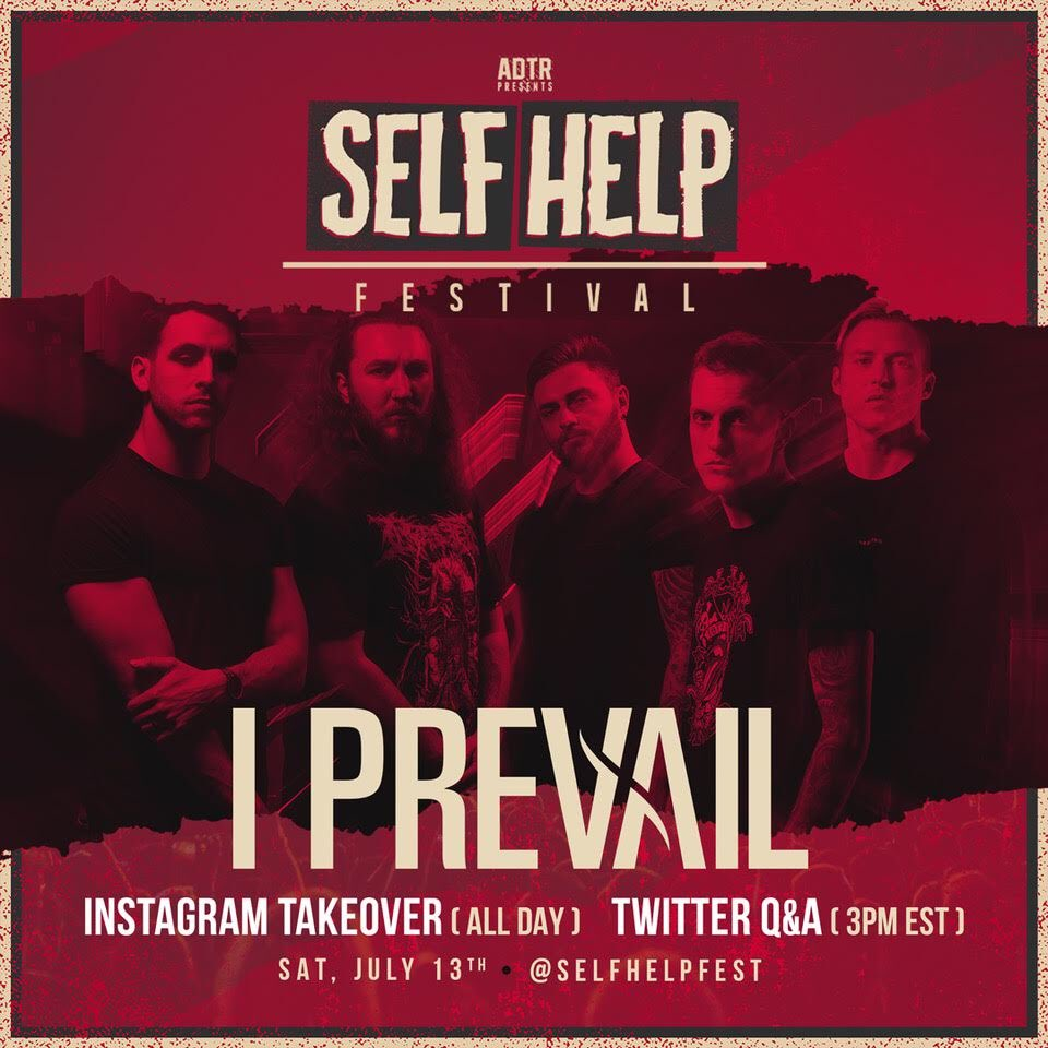 Come hang with us tomorrow! We're taking over the @selfhelpfest socials on IG and twitter! Gonna be talking about the festival, our new album trauma, and anything else you guys wanna ask us about!
