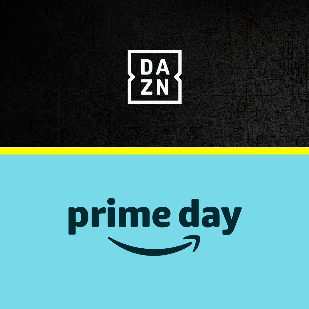 Attention FireTV Users & Prime Members 📣   If you purchase a DAZN membership (monthly or annual) during #PrimeDay, you get $15 in Amazon credit to spend! 💸   (See @Amazon for terms and conditions.)