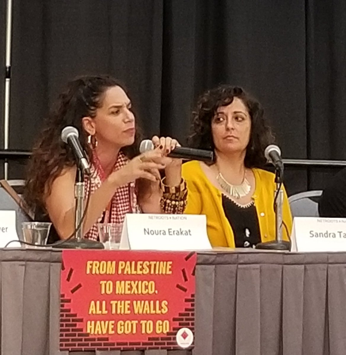 Palestine is central to US imperialism- @4noura #NN19