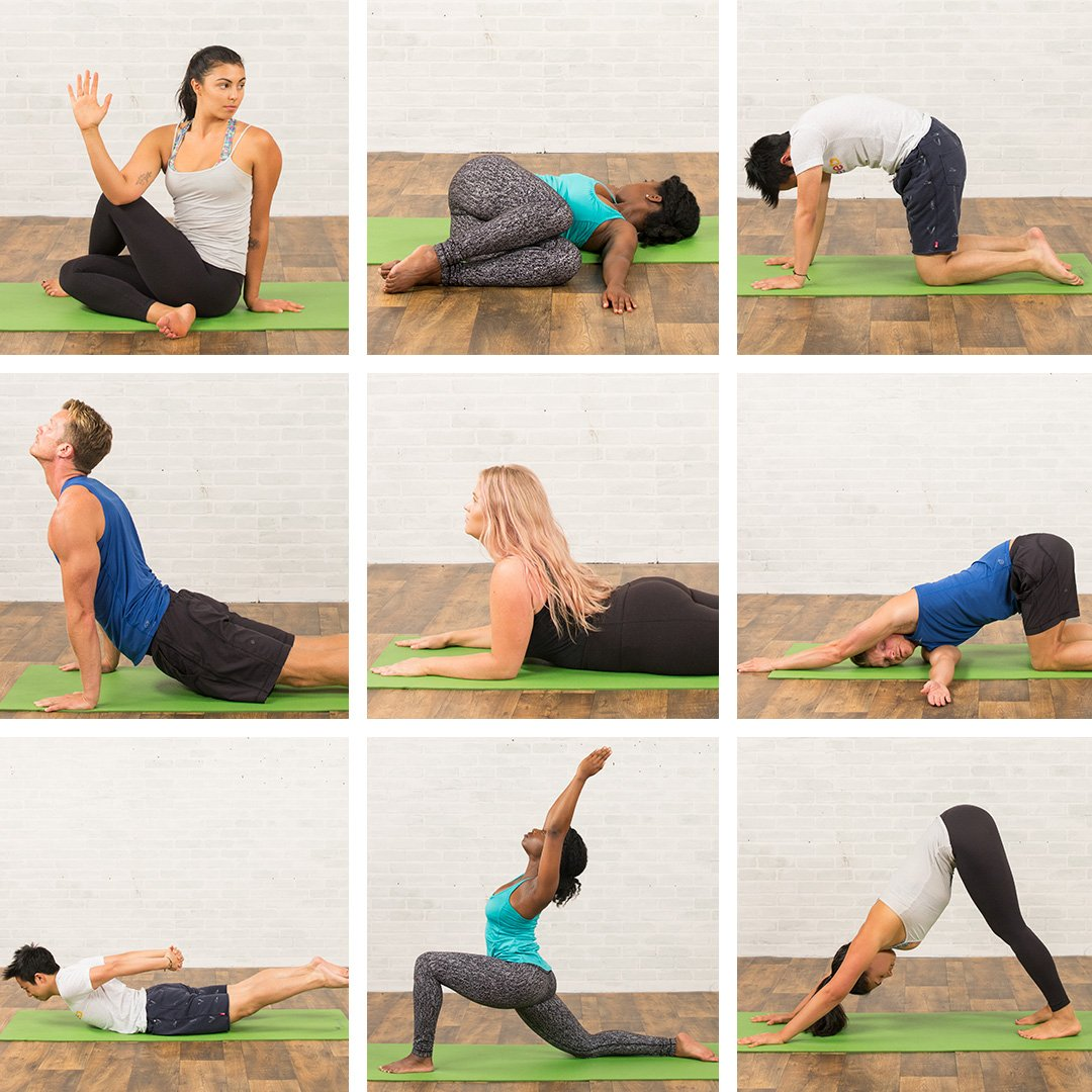 These yoga poses may help with back & neck pain relief! Who do you know who needs this right now?