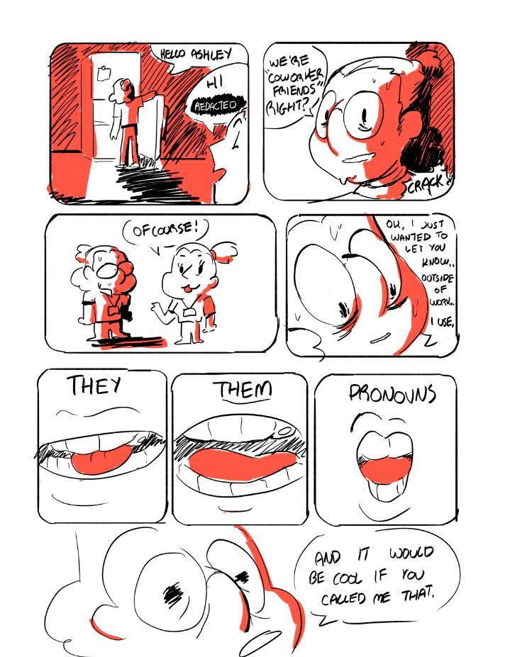 they/them pronouns