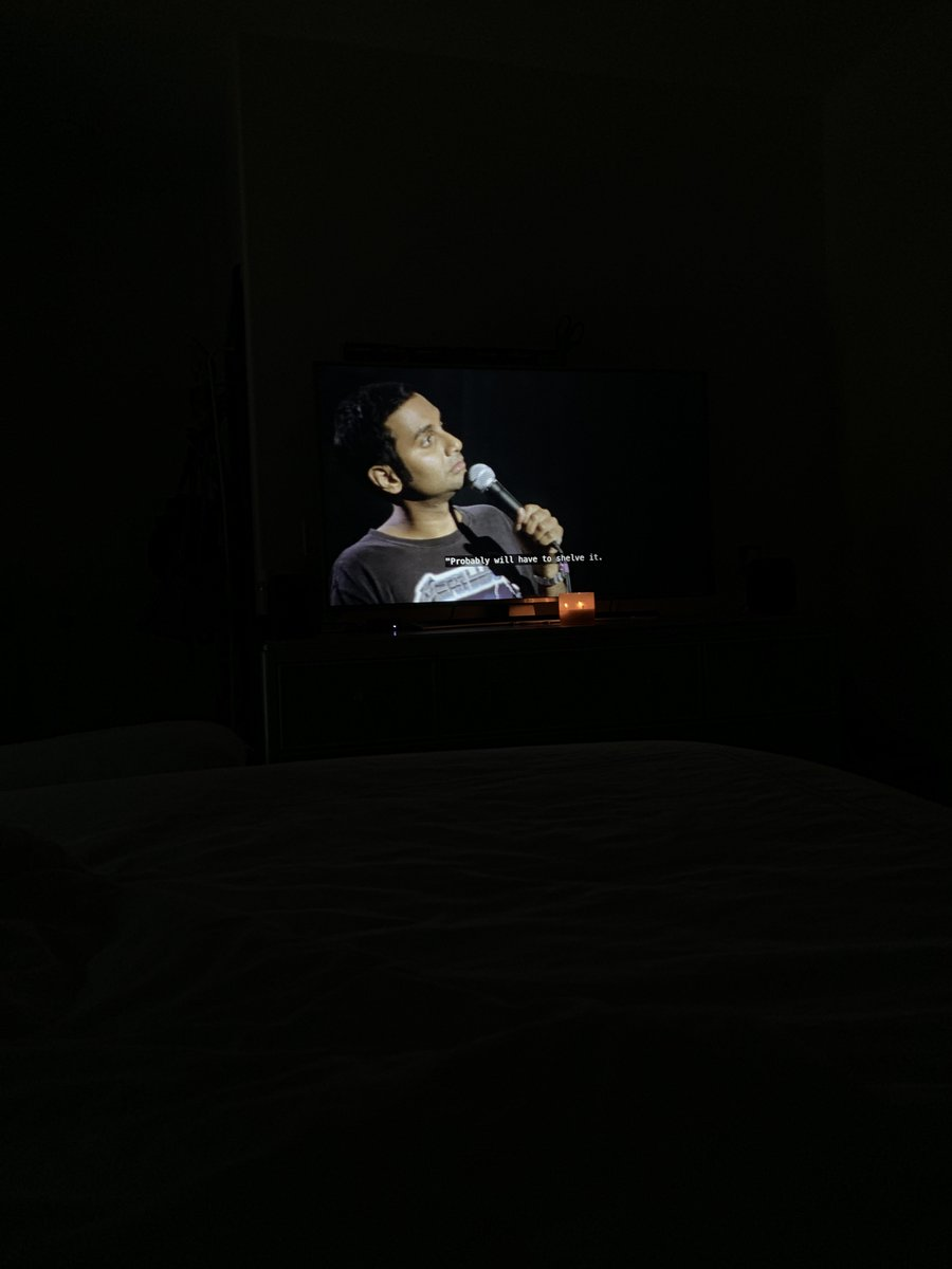 @azizansari @netflix Killing it as always!