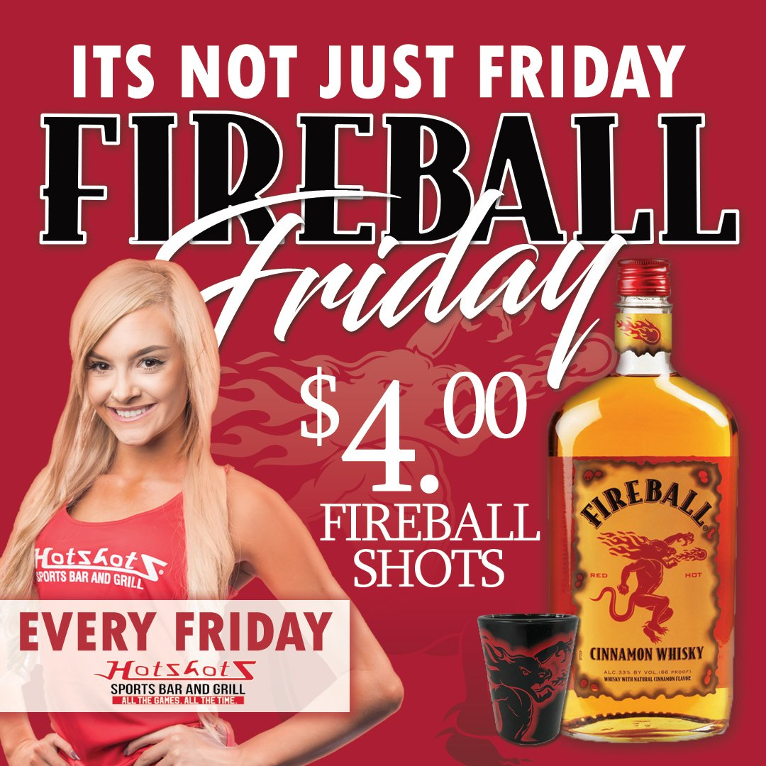 It is going to be a beautiful weekend. Come celebrate Friday and have a shot of Fireball Whisky with us to start things off right. Great specials all night long and the Cards play at 7! See you then. #Fireball #Friday #ShotSki