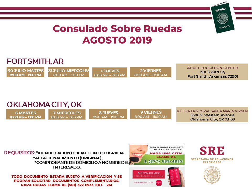 ConsulmexLittle Rock - @ConsulMexLir Twitter Profile and