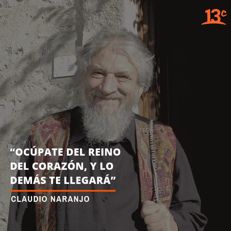 Claudio Naranjo Despedimos Reconocido Psiquiatra Chileno