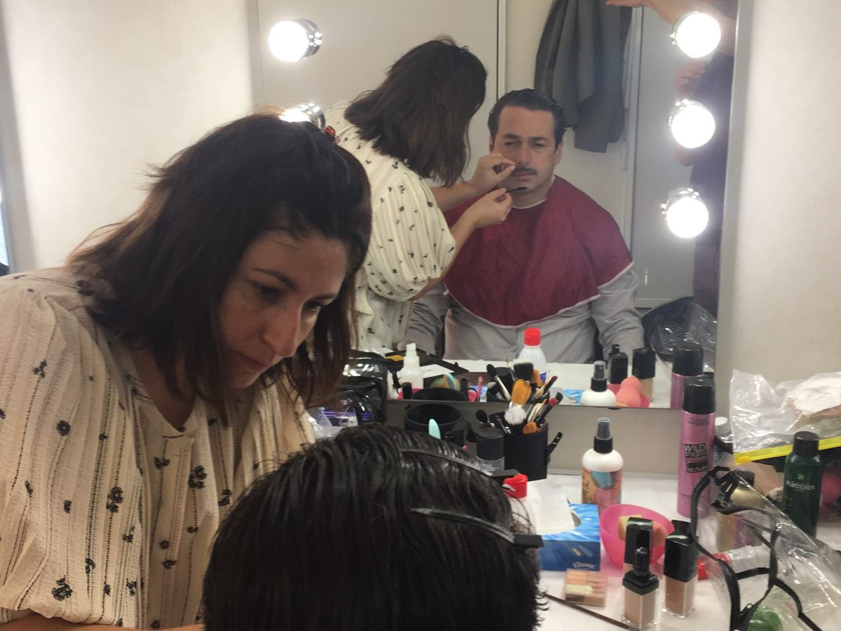 It was #A_Hard_Days_Night  Makeup artist and shooting in my new movie🎬🎥  #SaadLostan #Syrian_actors #Syrian_cenima #سعد_لوستان #سينما_سورية #анзорей https://t.co/IHkwLUA4dw